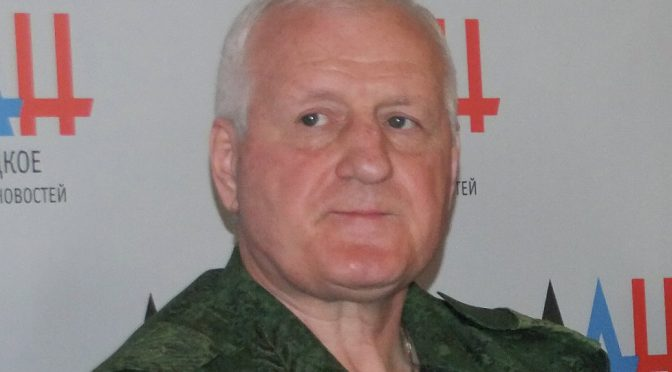 Former Advisor to Ukraine's Defense Minister Defects to Donbass