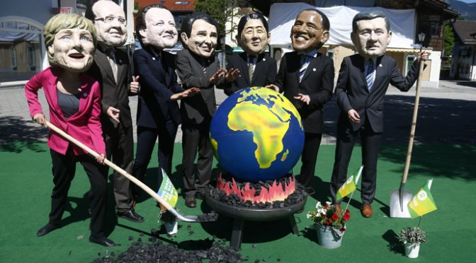 G7 helpless in the face of mathematically certain bankruptcy