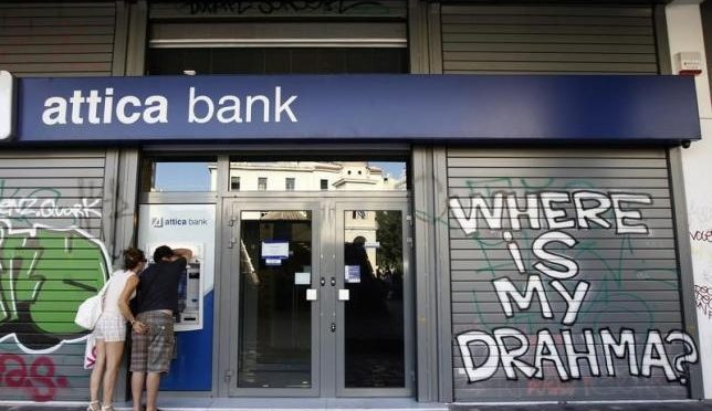 Greece Closes Banks 'til Referendum as ECB Flip-flops on ELA
