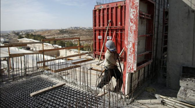 China Forbids Its Workers from Building Israel Settlements