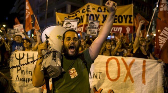 Greek Referendum Results: NO Wins @ 61.31%