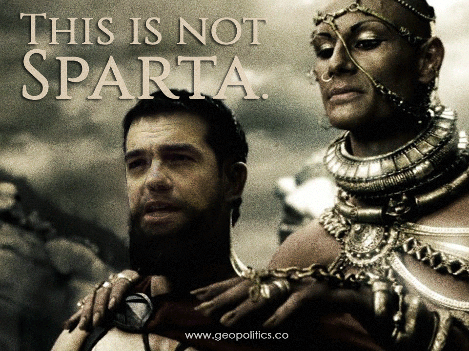This is not Sparta!