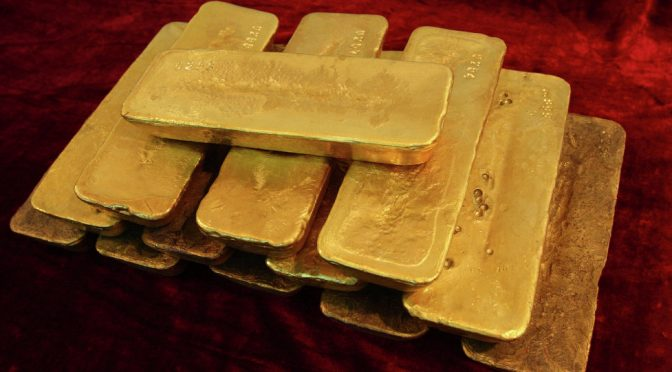 "COUNTRIES RESUME WITHDRAWING GOLD RESERVES FROM ""LAST"" FEDERAL RESERVE"
