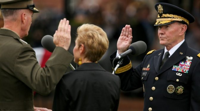 Dempsey Retires as Joint Chiefs Chairman