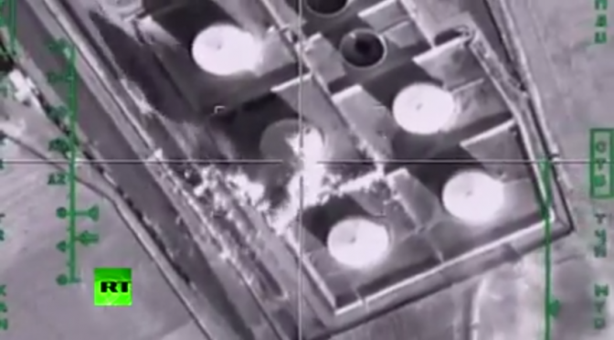 Putin's Resolve: ISIS Oil Refineries & 1,000s of Oil Tankers Destroyed