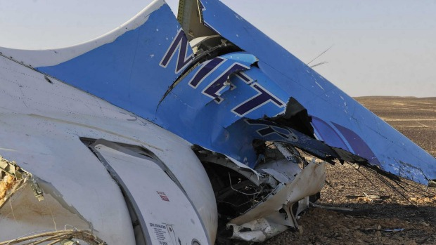 tail end of russian flight 7k9268