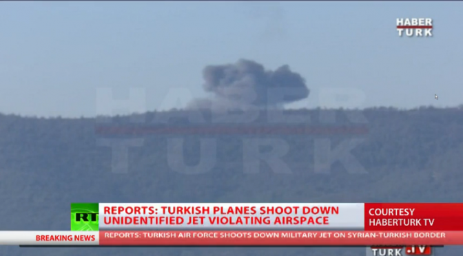 "Turkey Shot Down Russian War Plane for ""Border Intrusion""!"