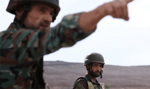 Syria-Army-near-Turkish-Border-in-Lattakia