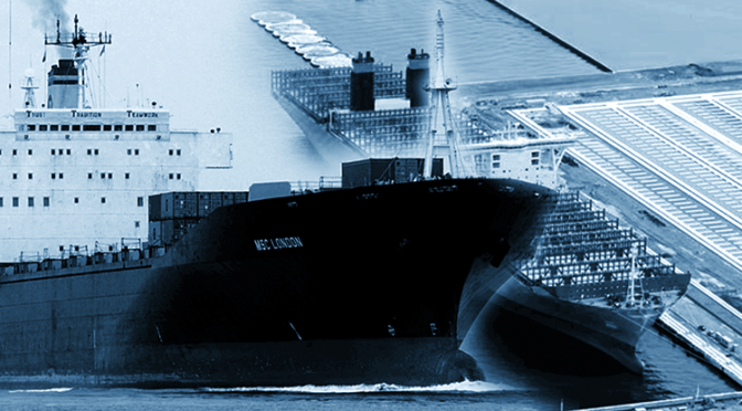 International Shipping Shuts Down; Baltic Dry Index Freefalling