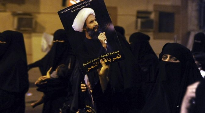 Saudi's Murder of Sheikh Nimr al-Nimr Exposes Western Hypocrisy Once Again
