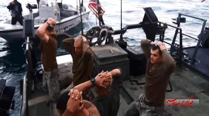 US Sailors Were Deliberately Baited to Sabotage Today's Lifting of Sanctions vs. Iran