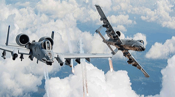 2 US Air Force A-10 Bombed 9 Targets in Aleppo to Sabotage Russian Efforts