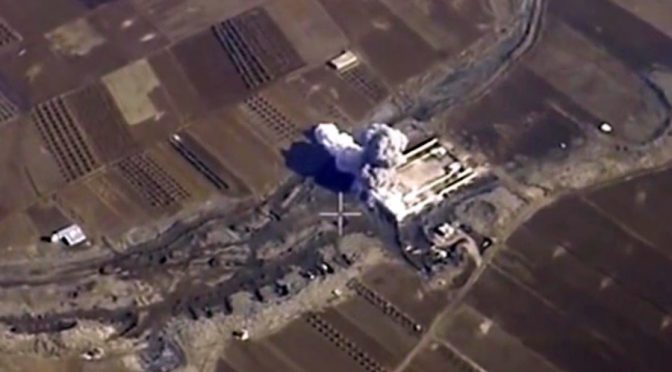 French Media Aired Russian Airstrike Video for NATO Propaganda