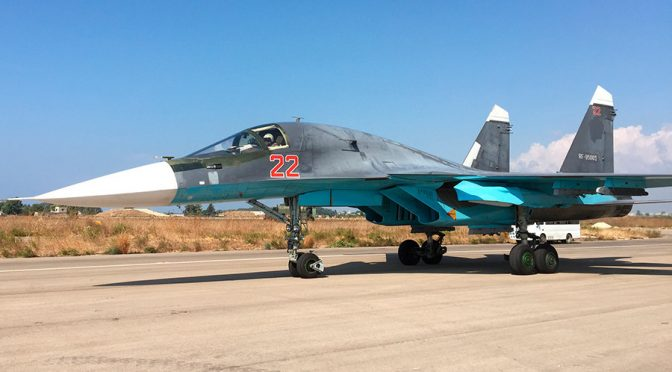 Russia Upgrades Syria Airpower with Su35s After Turkey's Recent Provocation