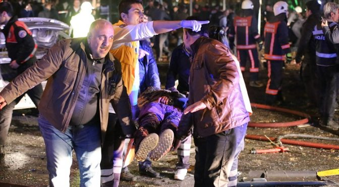 Ankara Explodes After Erdogan's Sarin Gas Attack in Syria Re-Exposed