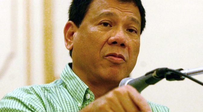 Presumptive Philippine Prez Rodrigo Duterte Refuses to Dance White House Tune