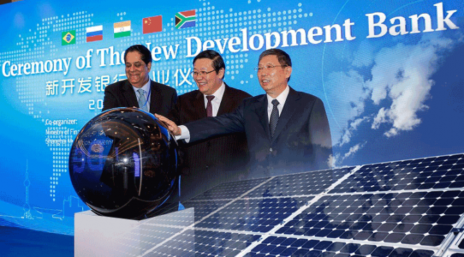 1st Loans Approved by BRICS Bank are on Renewable Energy