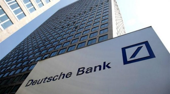 Deutsche Bank Admits Rigging Gold & Silver Prices