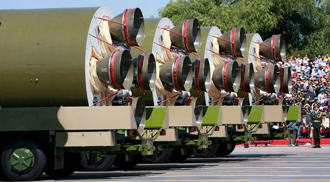 China Calls Rothschild's WW3 Bluff with Gold-Backed Yuan & 12,000 km Range Missile Test
