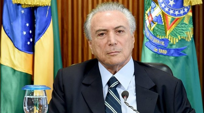 Khazarian Cabal Succeeds in Sowing Turmoil in Brazil