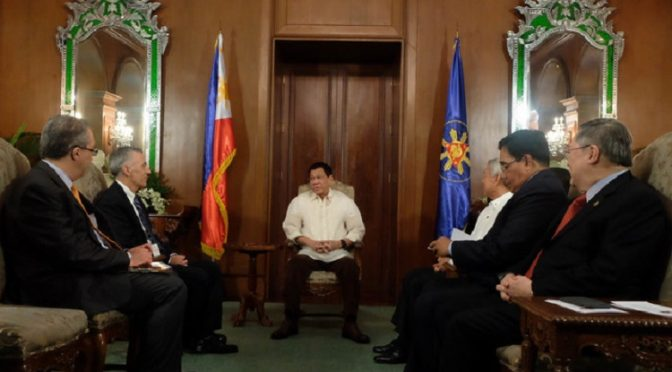 US Gov't & Vatican Agents Seek Audience with President Duterte Post Hague Verdict