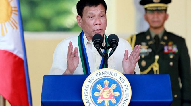 1st State of Nation Address of Philippine President Rodrigo Duterte Shows He Can't be Packaged
