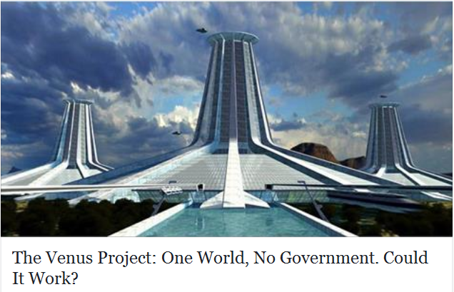 one world, no government