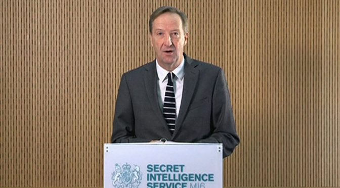 Britain's New Intel Chief is Living in an Upside Down World