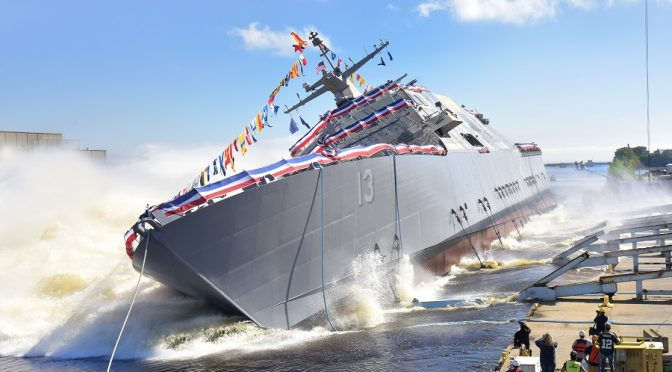 Trump Pledges End of Regime Change Wars with 300+ New Warships