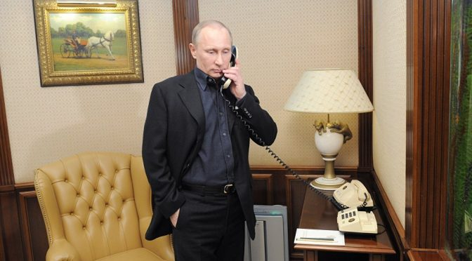What to Expect From the First Official Phone Call Between Putin & Trump