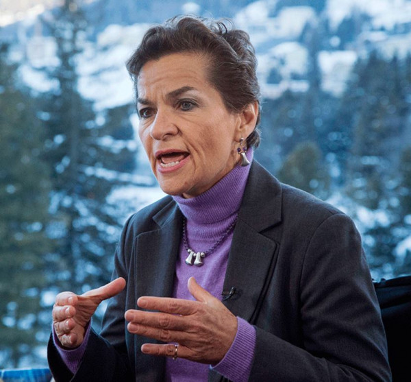Christiana Figueres, executive secretary of U.N.'s Framework Convention on Climate Change