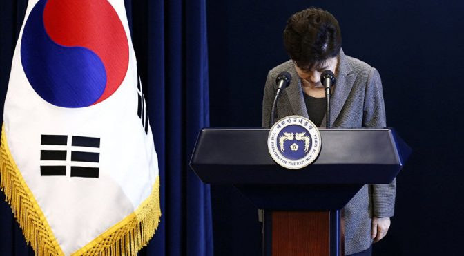 US Puppet Park Chung-hee Impeached, NK-friendly Progressive Moon Jae-in Rising