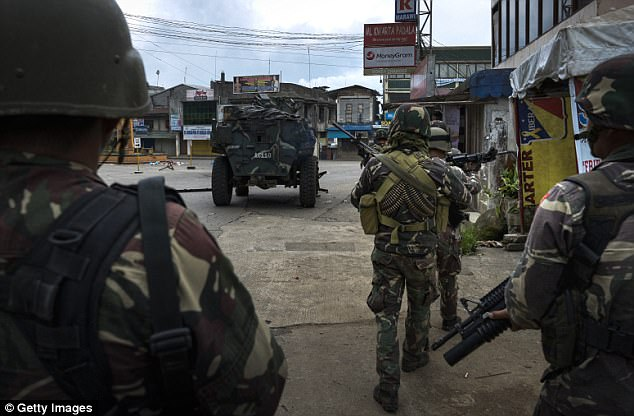 Maute group suffered 61 dead and unverified number of wounded, 42 were physically accounted while 19 were based on eyewitness accounts.