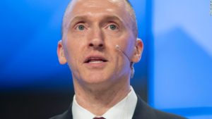 Former Trump foreign policy adviser Carter Page.