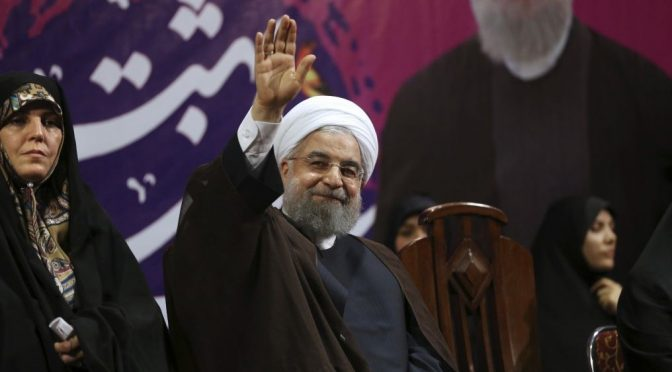 Iranian President Rouhani Reelected