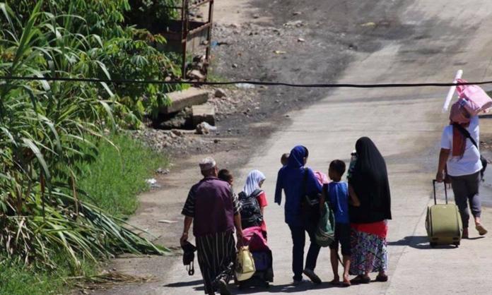 Muslim civilians were helping Christians flee Marawi City.