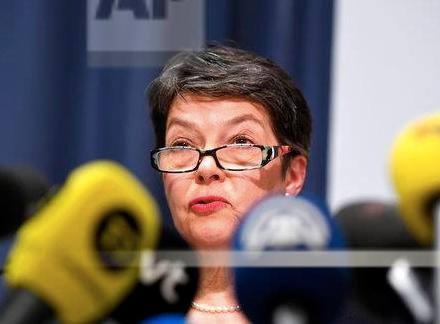 Sweden chief prosecutor, Marianne Ny