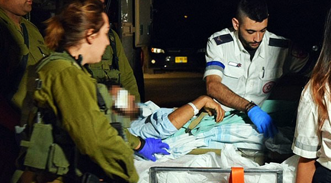 Injured Terrorists Taken to Israeli Hospitals Again