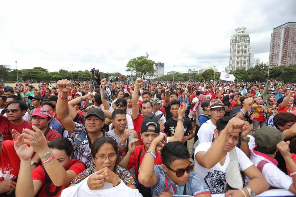 Duterte continue to enjoy and gain the trust of many of his countrymen.
