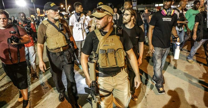 """From the Ferguson Riots, to the Inauguration, to Berkeley (X2), Boston, and Portland Free Speech Rallies, the """"Sheepdogs"""" of Oath Keepers Always Answer the Call to Defend."""