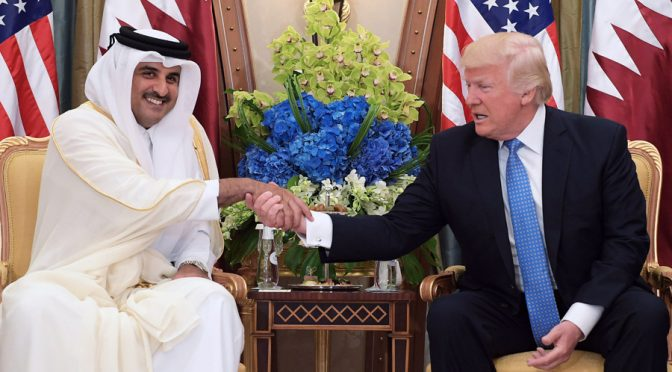 US Extortion vs. Qatar is Confirmed