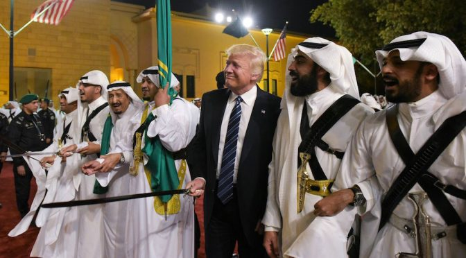 Trump's Sword Dance Sets Off the War of the Wahhabis | Pepe Escobar