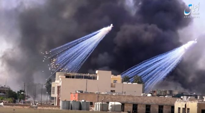 US-led Coalition Admits Use of White Phosphorus in Mosul & Raqqa