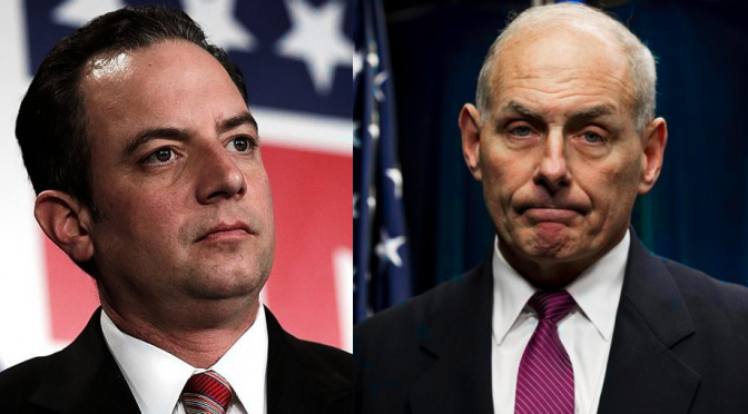 Priebus Out, Gen. Kelly In: Swamp Draining May Start Soon
