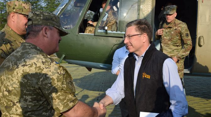 US Mulls Sending Arms to Kiev, 'not provocative' | US Envoy to Ukraine