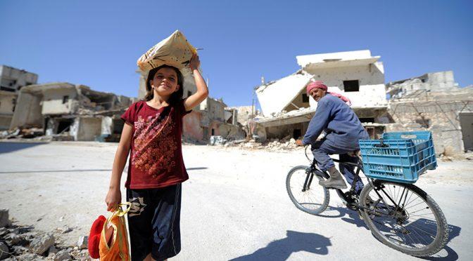 #RussiaDidIt: 600,000 Syrians Return to Aleppo City