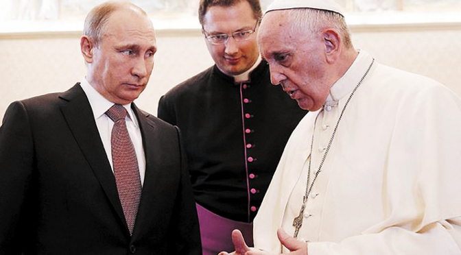 'Pope Francis is Not A Man Of God' | Putin