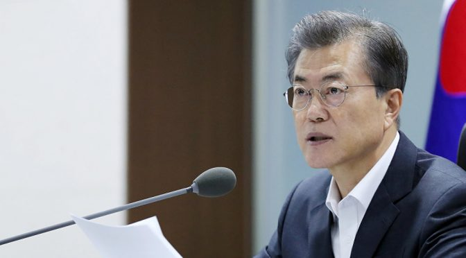 SK President Moon Threatens to Destroy North Korea beyond Recovery
