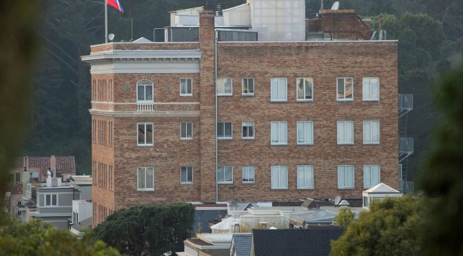 FBI Violated Diplomatic Norms by Raiding Russian SF Embassy
