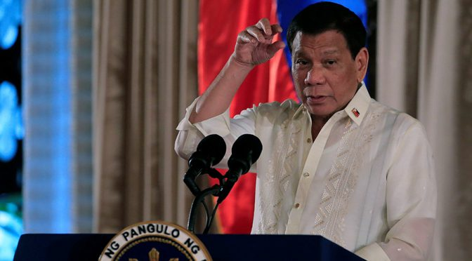 You leave my country in 24 hours | Duterte told EU Ambassadors